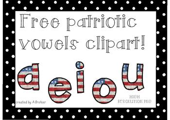 FREE PATRIOTIC VOWELS