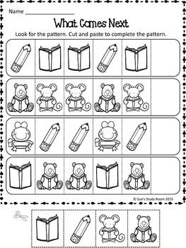 {FREE} PATTERNS: School Supply