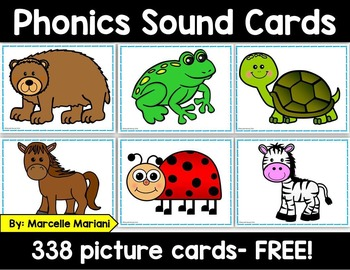 FREE PHONICS SOUND CARDS