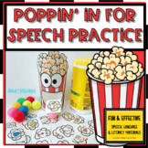 FREE POPCORN ARTIC FEEDING MOUTH SPEECH THERAPY FREE