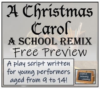 Christmas Play Scripts Free.Free Preview A Christmas Carol A School Remix Play