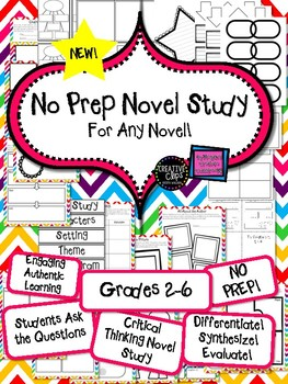 Novel Study for ANY Novel!