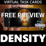 FREE PREVIEW | Virtual Density Task Cards (Distance Learni