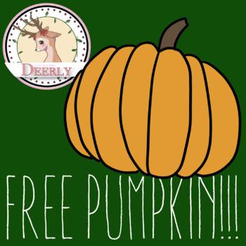 FREE PUMPKIN!!!!! -Deerly