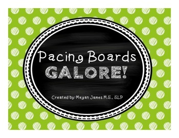 FREE: Pacing Boards GALORE!
