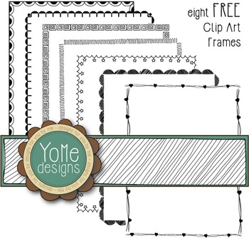 FREE Page Borders - Frames