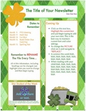 FREE Pages St Patty's Template - Create on the Go Using iPhones & iPads!