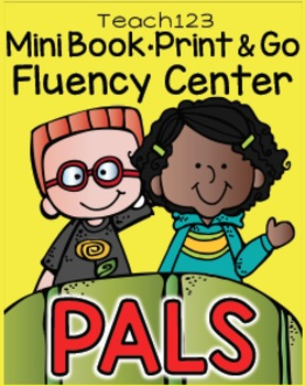 Pal Friend Mini Book Print