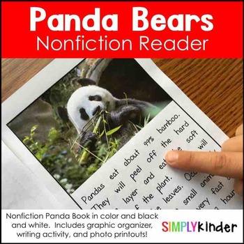 FREE Panda Bear Nonfiction Unit