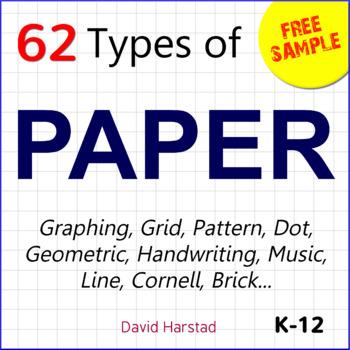 FREE - Paper Bundle Excerpt: 1 cm Graph Paper (K-12)