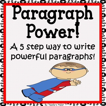FREE Paragraph Writing - Paragraph Power!