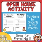 Open House  Back to School  Meet the Teacher  Freebie
