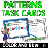 Patterns Task Cards (Superhero theme) FREE