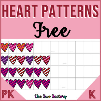 FREE Patterns | Repeating and Growing Pattern Center | Hearts