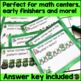 FREE Pattern Task Cards- St. Patrick's Day Theme