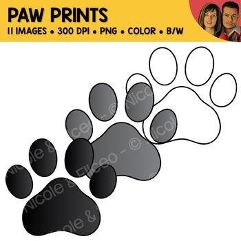 FREE Paw Print Clipart