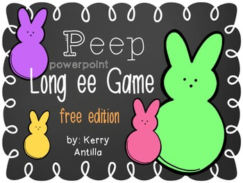*FREE* Peeps Long ee Powerpoint Game