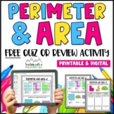 FREE Perimeter and Area