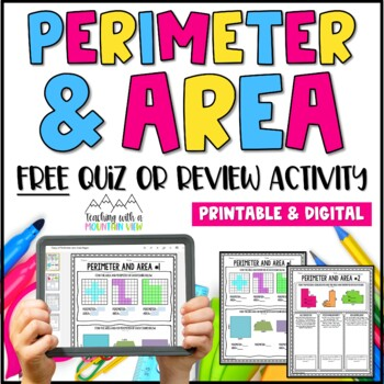 FREE Perimeter and Area