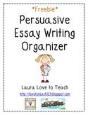 FREE Persuasive Essay Graphic Organizer