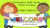 FREE Persuasive Task Cards- Upper Primary