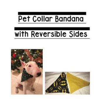 FREE Pet Collar Bandana Pattern and Directions