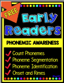 Phonemic awareness: phonemic awareness lessons segmentation, onset, rimes