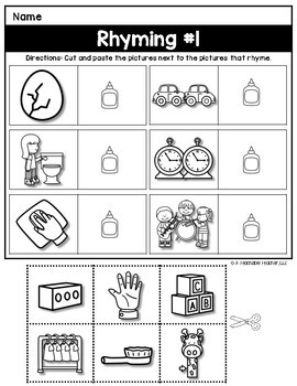It's just a photo of Tactueux Phonemic Awareness Printable Games