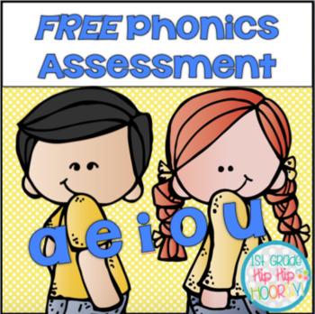 FREE Phonics Assessments!