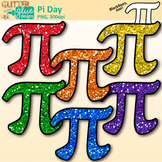 Pi Day Clip Art | Area and Circumference Symbol Graphics for Math Activities