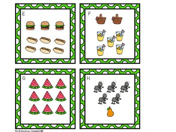 FREE Picnic Addition and Subtraction