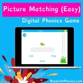 FREE! Picture Matching Game (Easy). Online Digital Phonics Games.