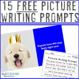FREE Picture Writing Prompts for Elementary, Middle School, or Special Education