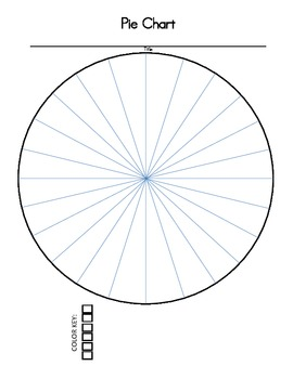 FREE Pie Chart with Tally Table