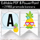 FREE Pineapple Banner for the Classroom - Pineapple Classroom Decor