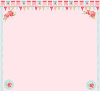 FREE Pink Pastel Floral Background Powerpoint Smartboard PDF Word JPEG FREEBIE