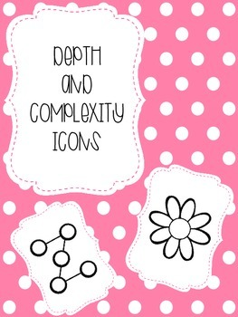 FREE Pink Polka Dot Depth and Complexity Posters