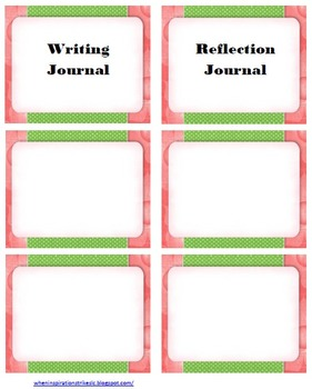 FREE Pink or Blue Theme Notebook Labels