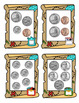 FREE --- Pirate's Treasure Coin Counting Card Samples