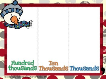 FREE Place Value Card Game - Spanish AND English