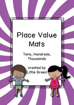 {FREE} Place Value Mats