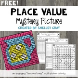 FREE Place Value Mystery Picture: Tens and Ones Place Valu