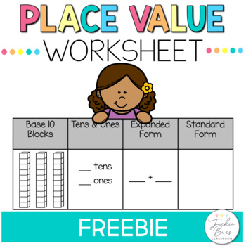 FREE Place Value Sheet