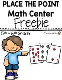 FREE Place the Point Decimal or Money Center