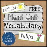 Plant Vocabulary *FREE*