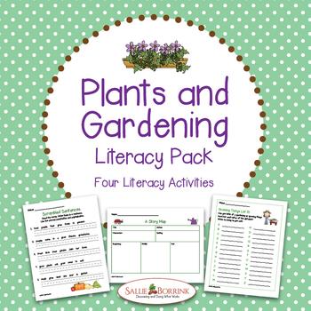 Plants Literacy Activities for Kindergarten and First Grade