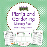 Plants Literacy Activities for Kindergarten and First Grade