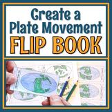 Plate Tectonics Activity Pangea Plate Movement Flip Book MS-ESS2-1 MS-ESS2-2