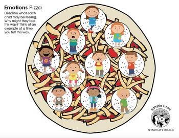 Play Dough Pizza Smash - Emotions