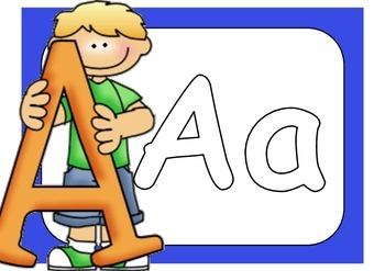 Plastelinamatter til bokstavforming (A-Z)